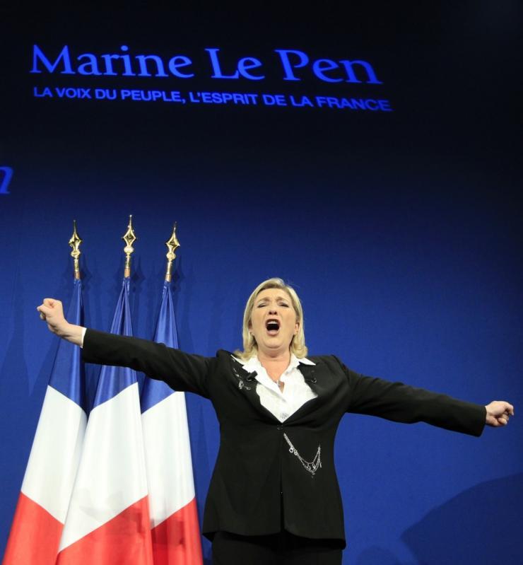 Marie Le Pen wird die Wahl gewinnen
