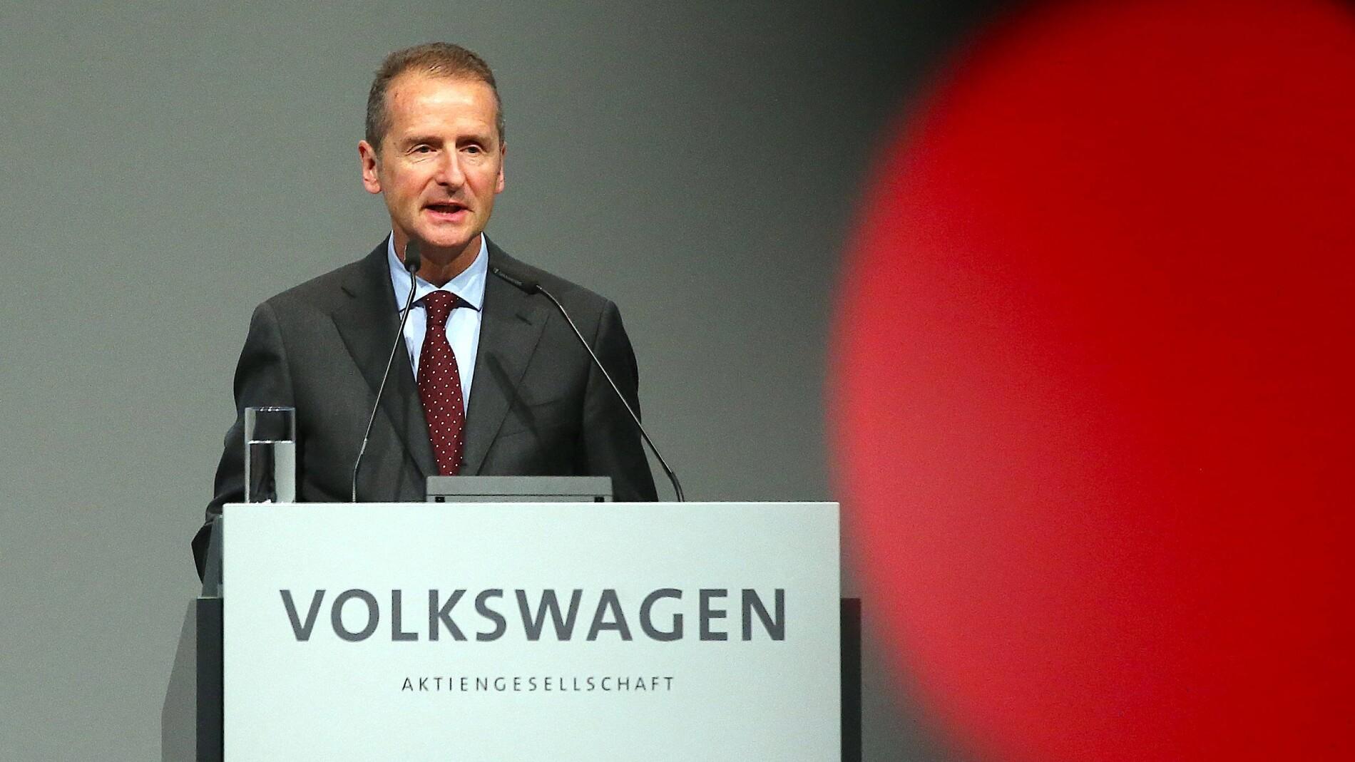 Wie schaffte es Herbert Diess an die VW-Spitze?