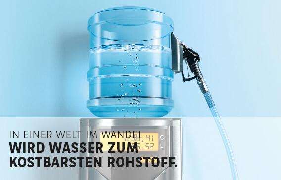 Sprudelnde Erträge winken Anlegern bei Wasser-Investments