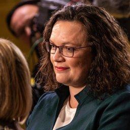 Ein Schlitzohr, die deutsche Bundesjustizministerin