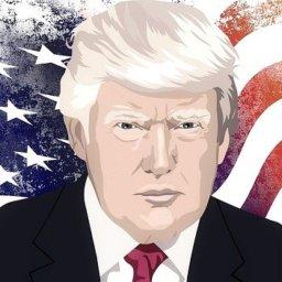 Donald Trump machte es noch einmal spannend