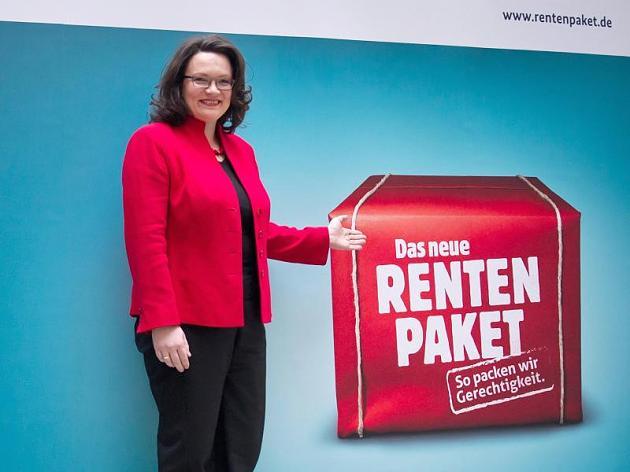 Jetzt holt Sozialministerin Nahles den Steuer-Hammer raus!