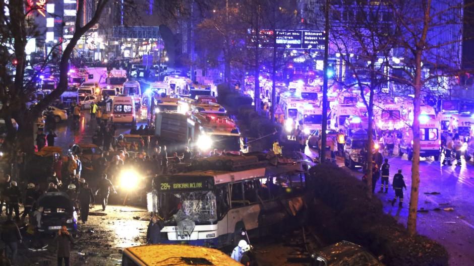 Russischer Top-Diplomat Karlow in Ankara ermordet
