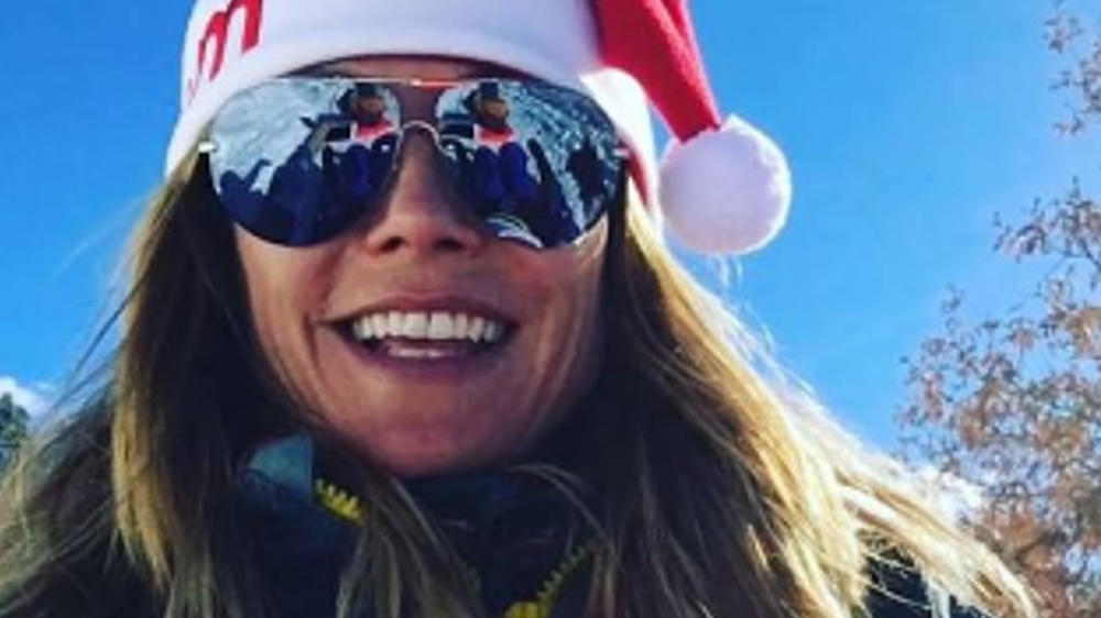 Heidi Klum mit Ex-Mann Seal und den Kindern im Schnee