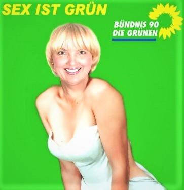 Die Grünen und Sex auf Rezept