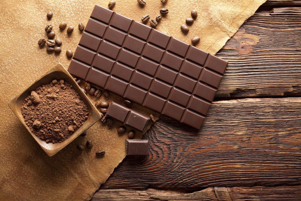 Schokoladen-Welt außer Rand und Band