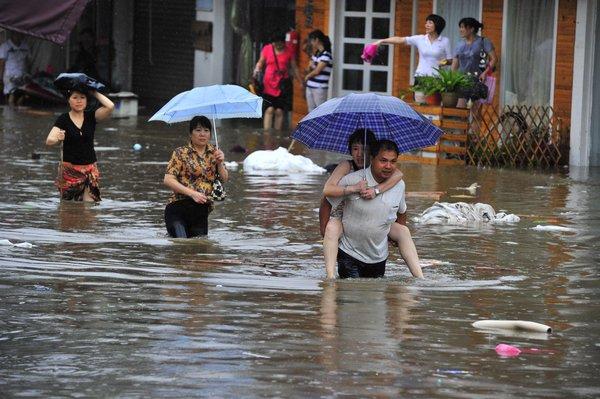 China steckt in wirtschaftlichen Schwierigkeiten