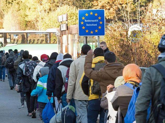 Merkels Problem der Flüchtlingsnachzug