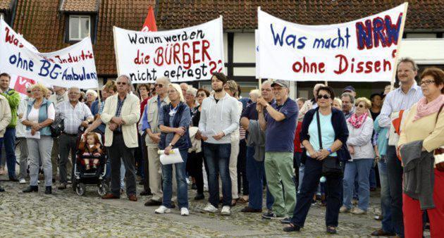 In Deutschlands Bevölkerung brodelt es