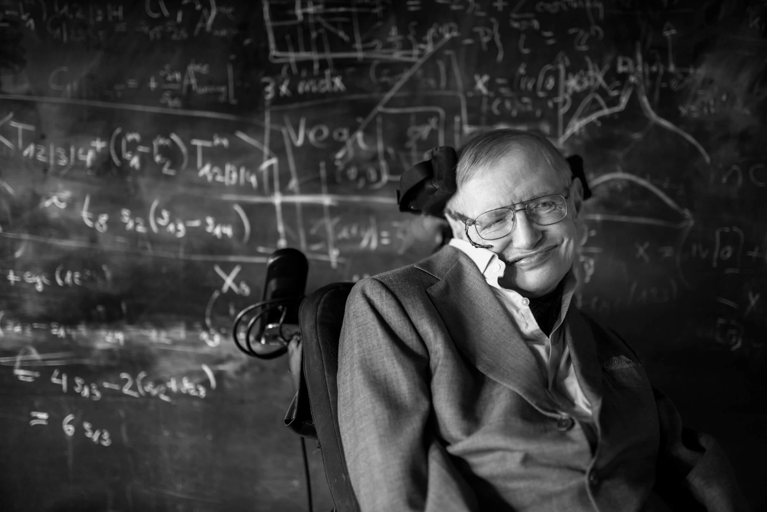 Nachruf auf Stephen Hawking, das Universal-Genie
