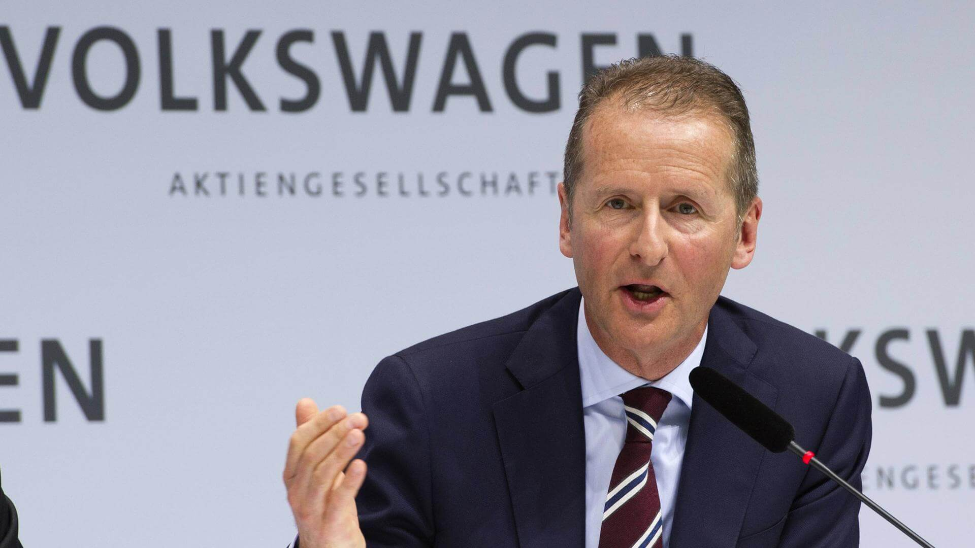 Herbert Diess zieht bei VW die Zügel an