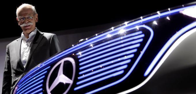 Zetsches Stern am Mercedes-Himmel sinkt